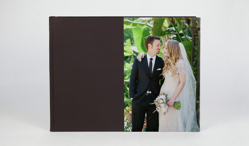Half Photo Front, Classic Leather Chocolate