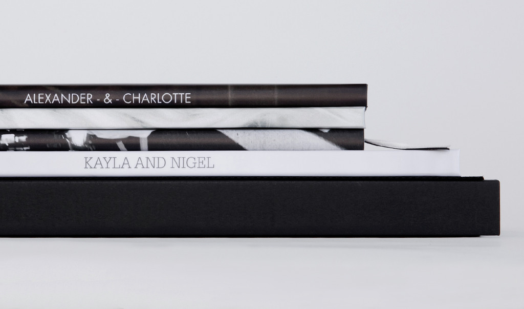 A range of Designable Covers and Dust Jackets with text on the spines of the books