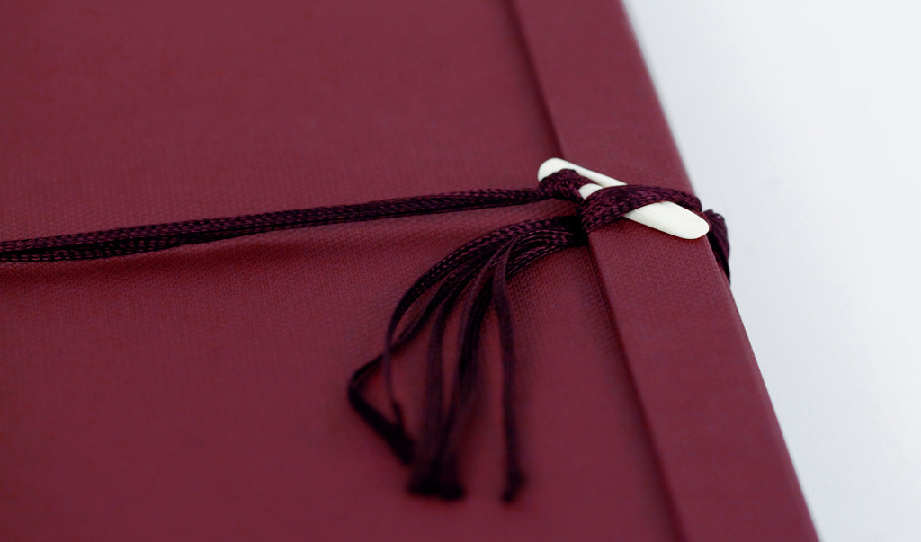 Close up of clasp on Mayu Case